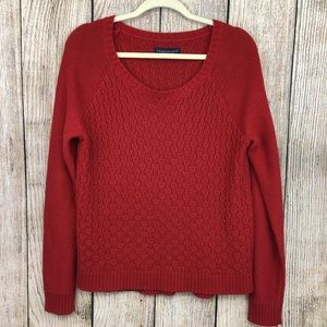 Aeropostale Red Sweater XL
